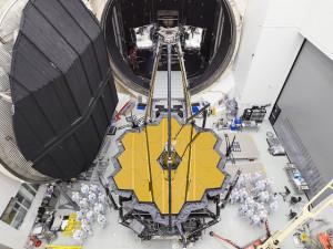 JWST testing at NASA's Johnson Space Center in 2017