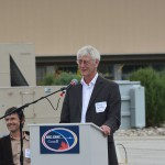 NRC-Herzberg Director General Greg Fahlman dedicating the John A. Galt Telescope.
