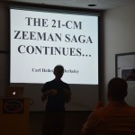 Carl Heiles describes 21-cm Zeeman observations.
