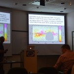 Carl Heiles showing the magnetic field in the ionized medium in the Milky Way.