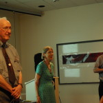 Miller Goss, Ellen Bouton, and Woody Sullivan discuss Practicing History.