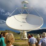 The DVA-1 offset Gregorian antenna.