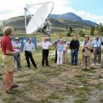 Gordon Lacy describing the DVA-1 telescope.